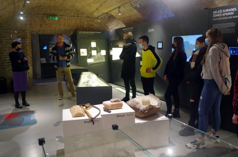 Ką matėme ir girdėjome Kraštotyros muziejaus Archeologijos skyriuje