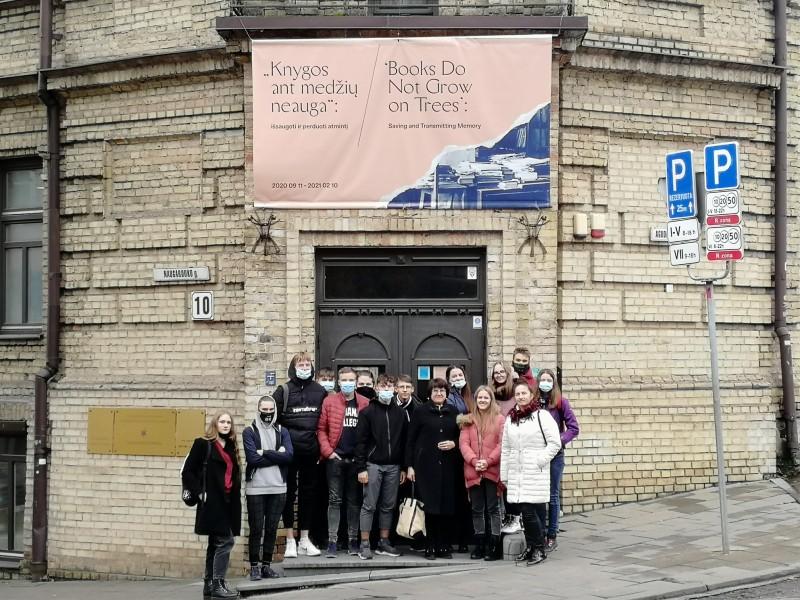 Apsilankymas Vilniaus Gaono žydų istorijos muziejuje